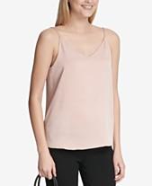 a2bfcdd71bf29c Calvin Klein Sleeveless Tops  Shop Sleeveless Tops - Macy s