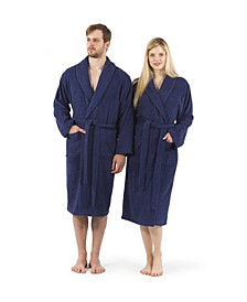 Unisex 100% Turkish Cotton Terry Bath Robe
