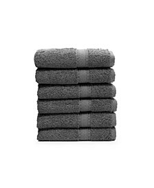 Linum Home Sinemis 6-Pc. Terry Washcloth Set