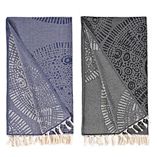 Linum Home Anatolian Pestemal Beach Towel