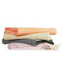 Linum Home Luxe Herringbone Beach Towel Collection