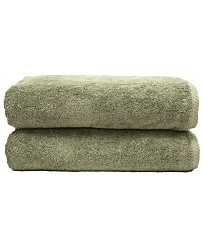 Linum Home Soft Twist 2-Pc. Bath Towel Set