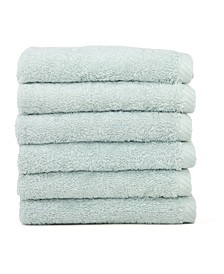 Soft Twist 6-Pc. Washcloth Set
