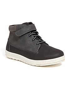 Deer Stags Little and Big Boys Niles Memory Foam Dress Casual Comfort High Top Sneaker Boot