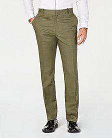 I.N.C. Men's Linen-Blend Dress Pants, Created for Macy's