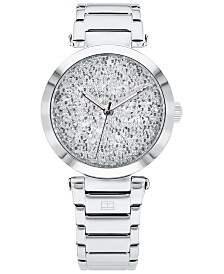 Tommy Hilfiger Women's Stainless Steel Bracelet Watch 32mm, Created For Macy's