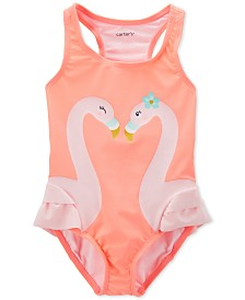 Carter's Baby Girls Flamingo Swimsuit