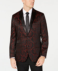 I.N.C. Men's Slim-Fit Jacquard Blazer, Created for Macy's