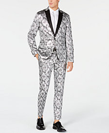 I.N.C. Men's Metallic Jacquard Suit Separates, Created for Macy's