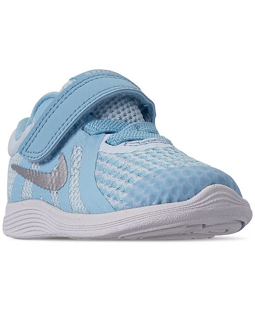 Nike Toddler Girls' Revolution 4 Athletic Sneakers from Finish Line