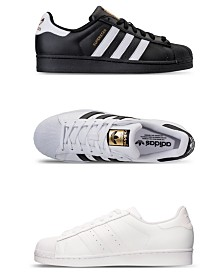 timeless design 09595 22397 adidas Mens Superstar Casual Sneakers from Finish Line