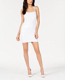 GUESS Jennifer Sequined Shift Dress