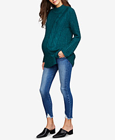 Joe's Jeans Maternity Distressed Skinny Jeans