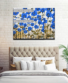Ready2HangArt 'Sapphire Meadow' Abstract Canvas Wall Art Collection
