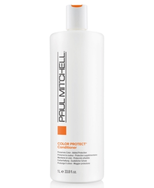 Image of Paul Mitchell Color Protect Daily Conditioner, 33.8-oz, from Purebeauty Salon & Spa