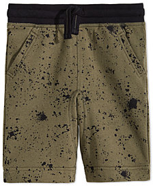 Epic Threads Little Boys Ink Splatter Shorts, Created for Macy's