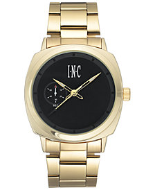 I.N.C. Men's Bracelet Watch 44mm, Created For Macy's