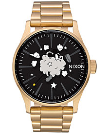 Nixon Men's Sentry Mickey Stainless Steel Bracelet Watch 42mm