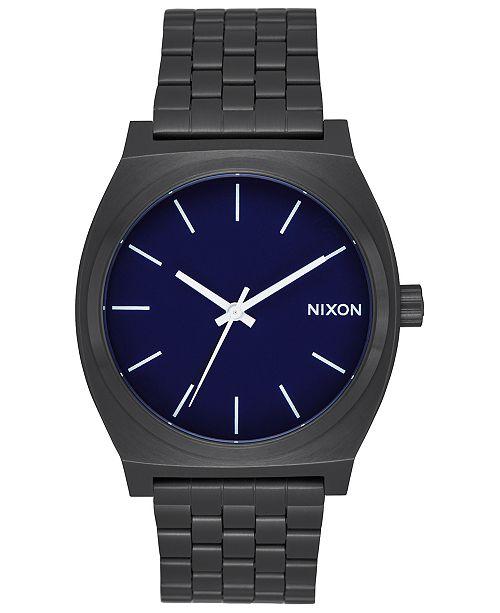 fc9ca84939e74 Nixon Time Teller Stainless Steel Bracelet Watch 37mm   Reviews ...