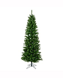 6.5 ft Salem Pencil Pine Artificial Christmas Tree Unlit
