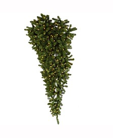 Vickerman 6 ft American Upside Down Artificial Christmas Half Tree With 350 Clear Lights