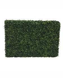 Artificial Green Boxwood Hedge, Uv Resistant
