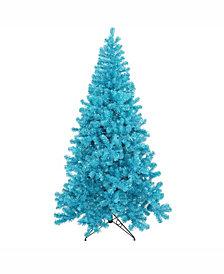 Vickerman 5 ft Sky Blue Artificial Christmas Tree