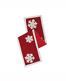 Vickerman Decorative Table Runner Festive
