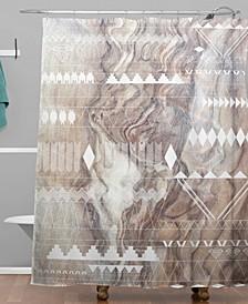 Iveta Abolina January Shower Curtain