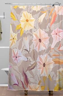 Deny Designs Iveta Abolina Bertadene Garden I Shower Curtain