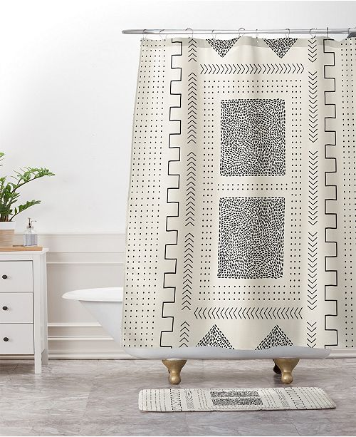 Deny Designs Iveta Abolina Mud Cloth Inspo V Bath Mat