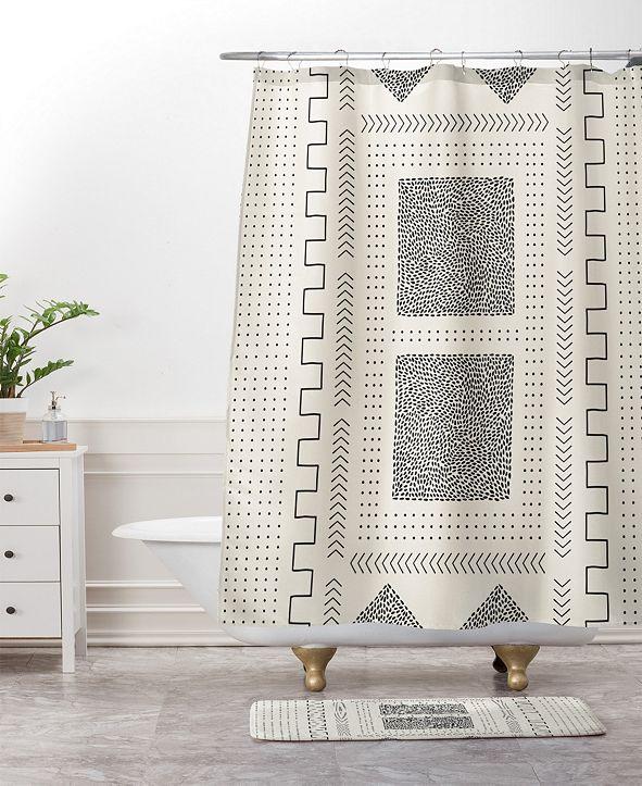Deny Designs Iveta Abolina Mud Cloth Inspo V Bath Mat