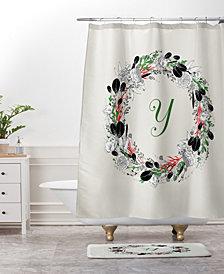 Deny Designs Iveta Abolina Winter Marble II Bath Mat