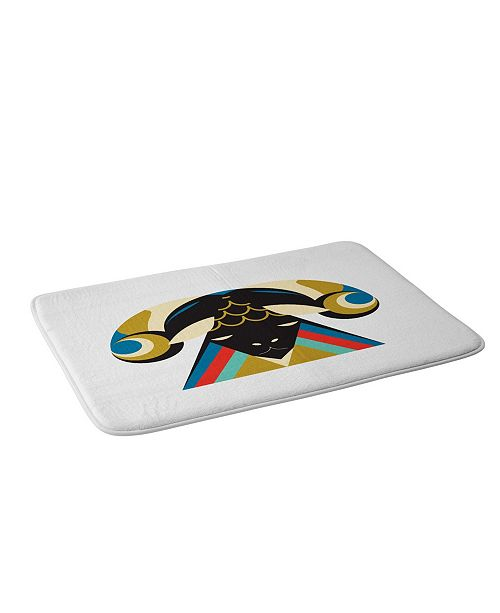 Deny Designs Holli Zollinger Zodiac Aries Bath Mat