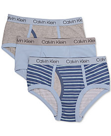 Calvin Klein Toddler Boys 3-Pk. Cotton Briefs