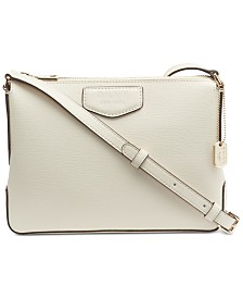 DKNY Sullivan Leather Top-Zip Crossbody, Created for Macy's