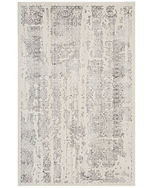 kathy ireland Home KI34 Silver Screen KI344 4' x 6' Area Rug