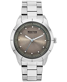 Men's Stainless Steel Bracelet Watch 44mm