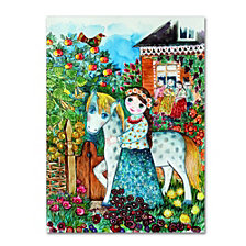 Oxana Ziaka 'Russian Summer' Canvas Art Collection