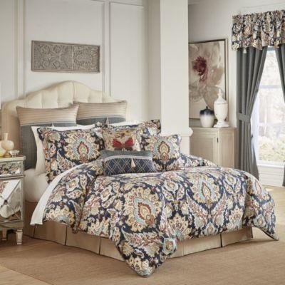 Finnegan 4pc Queen Comforter Set