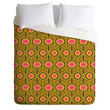 Holli Zollinger Zebrini Tribal Mambo Queen Duvet Set