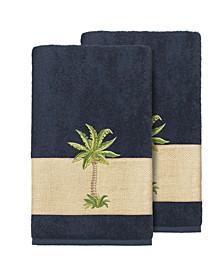 Colton 2-Pc. Embellished Bath Towel Set