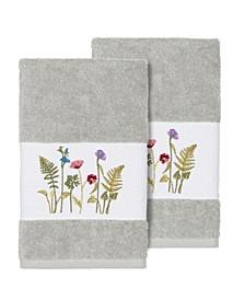 Serenity 2-Pc. Embellished Hand Towel Set