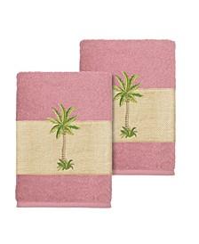 Colton 2-Pc. Embellished Washcloth Set