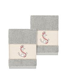 Easton 2-Pc. Embellished Washcloth Set