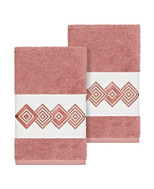 Noah 2-Pc. Embellished Hand Towel Set