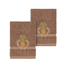 Welcome 2-Pc. Embellished Washcloth Set