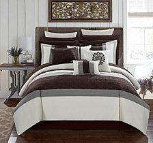 Chic Home Pisa 16-Pc Queen Comforter Set