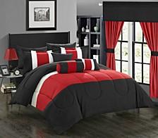 Mackenzie 20-Pc Queen Comforter Set