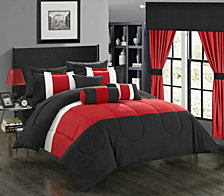 Chic Home Mackenzie 20-Pc Queen Comforter Set